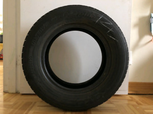185/70R14 Tires. 4 tires. 15$ each. Used with Honda Civic.