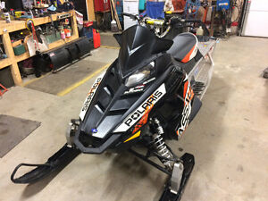 "Very clean/low kms. 2013 polaris assault 800 144"" electric start"