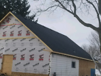 WIND DAMAGE SNOW REMOVAL RE ROOF NEW CONSTRUCTION