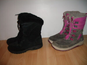 """"""" Columbia """" ou """" TIMBERLAND """" bottes d'hiver -- size 8 - 9 US"""