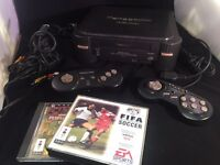 Panasonic 3DO working console with games