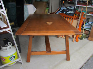 Vintage maple table for sale