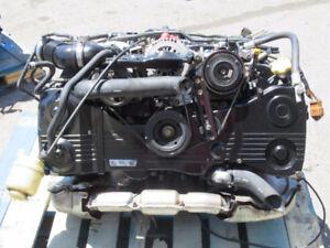 JDM Subaru Legacy EJ208 Twin Turbo Engin BH EJ20R EJ206 2.0L