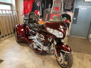 2008 Honda Goldwing Trike with a California Sidecar Kit
