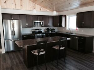 80 Acre Luxury Cabin, Wilderness, Snowmobiling- Enoy the Winter