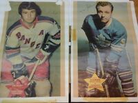 Hockey Posters 1971-1972