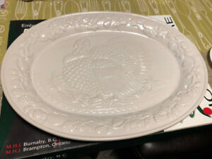 Embossed Turkey Platter