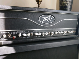 Peavey Butcher 100w tube amp and 4×12 cab