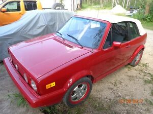 1984 Volkswagen Rabbit Convertible
