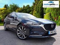 2018 Mazda 6 2.2d (184) Sport Nav+ 5dr Manual Diesel Estate