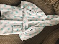 M&S children's dressing gown age 2/3