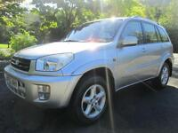 02/52 TOYOTA RAV4 VX 2.0 VVTI 5DR ESTATE IN MET SILVER WITH SERVICE HISTORY