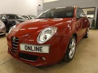 ALFA ROMEO MITO JTDM-2 DISTINCTIVE, Red, Manual, Diesel, 2012