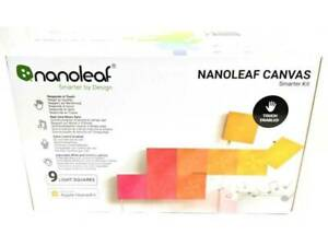 Nanoleaf Canvas Smarter Kit 9 Light Squares Light Assembly - 156014