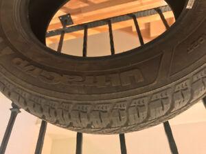 4 pneus d'hiver Goodyear ultragrip 225/65 R17