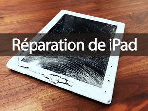 iPad Air - iPad 2 3 4 - RÉPARATION