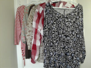 Ladies tops pants or coats reduced prices