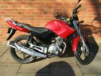 RED YAMAHA YBR125 LEARNER COMMUTER MOTORCYCLES CHEAP TO RUN EASY TO RIDE