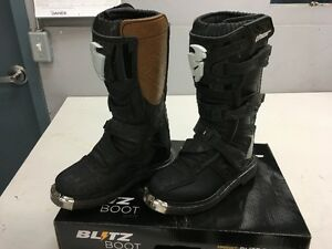 Thor Blitz MX Boots Youth size 2   motocross dirtbike boot