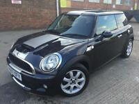 Mini Cooper S 1.6 Petrol Manual 3 Door Black with Silver