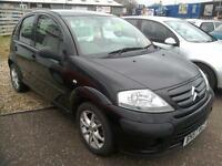 2007 Citroen C3 1.4HDi Cool Diesel Black 74K £30 Road Tax 5Door V Economical