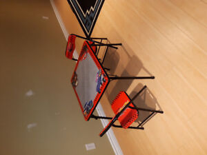 Lightning McQueen table and 2 chairs for toddler
