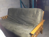 Futon for Sale - Lightly Used, Good Condition