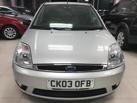 2003 Ford Fiesta 1.6 Ghia-1 Former Keeper- 2 Keys- 9 Service Stamps