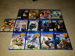 13 ps4 sealed games