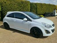VAUXHALL CORSA 1.2i 16v LIMITED EDITION (EXTERIOR PACK) 3 DOOR - 2011 - WHITE