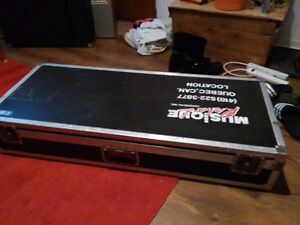 Keyboard synth hardshell ATA flight case