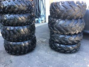 AtV 205 80 R12 270 60 R12 tires rims 4 bolt