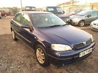 2001/Y Vauxhall/Opel Astra 1.6i ( a/c ) Club FULL MOT EXCELLENT RUNNER