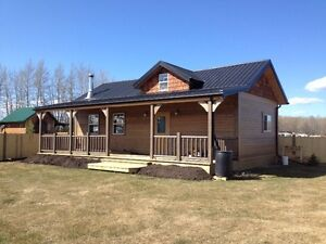 New cabin and property for sale