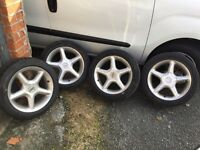 TSW Alloy Wheels