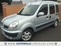 2006 RENUALT KANGOO 1.6 16V AUTO EXPRESSION *75MPG *GAS CONVERTED* 40000 MILES*