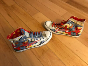 Dc Comics Superman Chuck Taylors