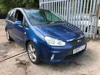 Ford C-MAX 1.8 16v Zetec FEB 19 MOT,LOW MILES FOR YEAR,PANORAMIC ROOF