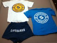 T-shirt et short sauveteur / lifeguard