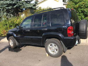 2002 Jeep Liberty LiMited edition suv OBO