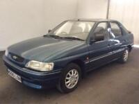 FORD ESCORT 1.6 SAPPHIRE LTD EDITION..ONE GENUINE OWNER..ONLY 57K MILES.RARE CAR