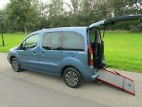 2019 Peugeot Partner Tepee 1.6 Hdi TAXI Wheelchair Accessible Vehicle WAV MPV Di