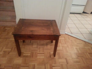 Wooden Side Table. Save $60