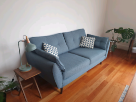 French Connection Zinc Sofa in Teal (still being sold @ DFS for £899)