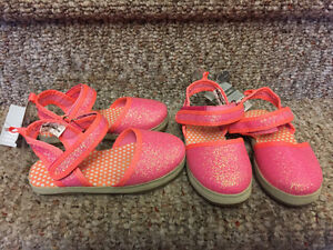 Reduced! New! Carters sandals kids/toddler size 6,8 or 9