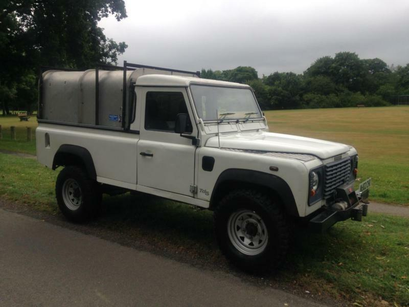 2002 land rover defender 110 pick up td5 no vat in hemel hempstead hertfordshire gumtree. Black Bedroom Furniture Sets. Home Design Ideas