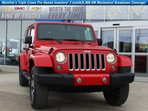 2017 Jeep Wrangler Unlimited Sahara | Trail Rated | Low KMs  - $