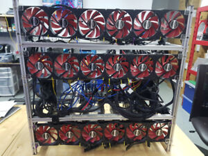 Mining Rigs - 1070 and 580 based