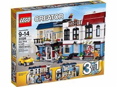 Lego Creator Bike Shop   Caf  Set 31026 Brand New In The Box