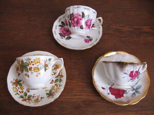 English bone china tea cups Kingston Kingston Area image 1